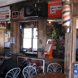 Interior of the original Momma G's